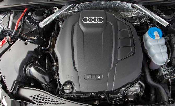 2021 Audi A4 Engine
