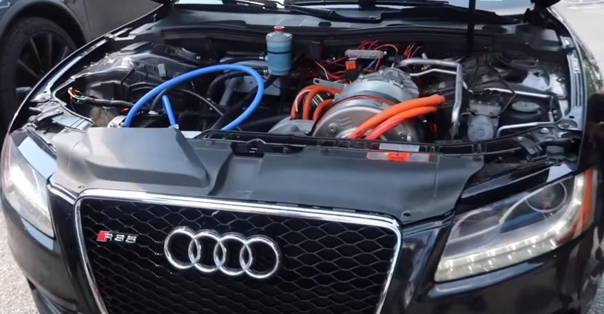 2021 Audi S5 Engine