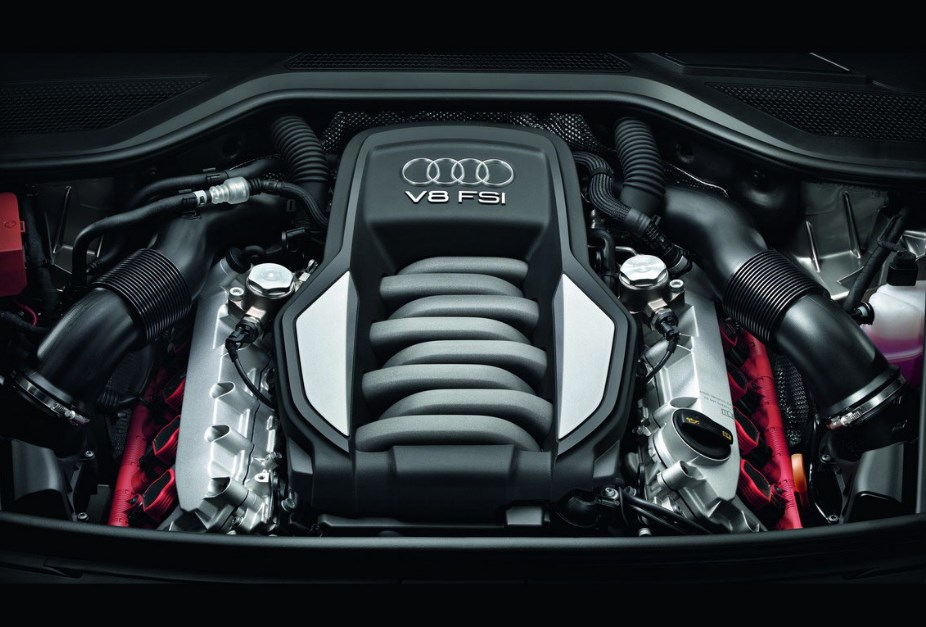 2021 Audi A8 Engine