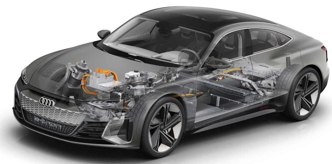 2021 Audi E Tron Engine