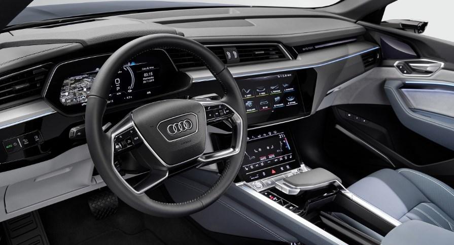 2021 Audi E Tron Interior