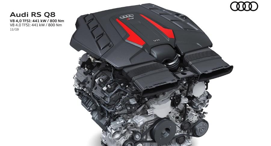 2021 Audi RS Q8 Engine