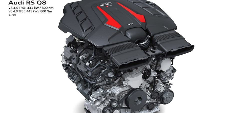 2021 Audi RS Q8 Engine
