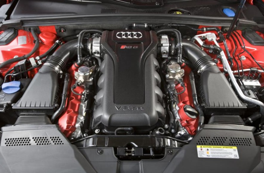 2021 Audi RS5 Engine