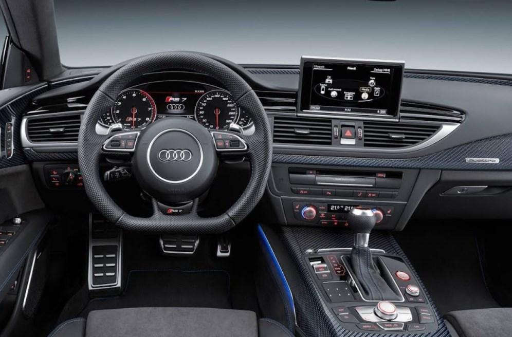 2021 Audi RS6 Interior