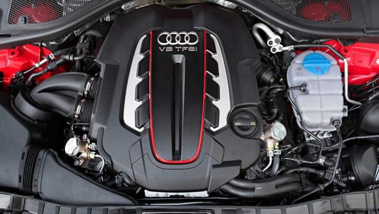 2021 Audi S6 Engine