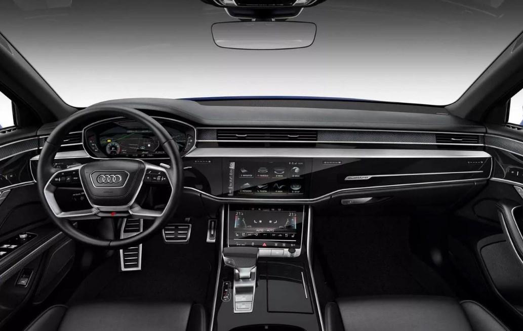 2021 Audi S8 Interior