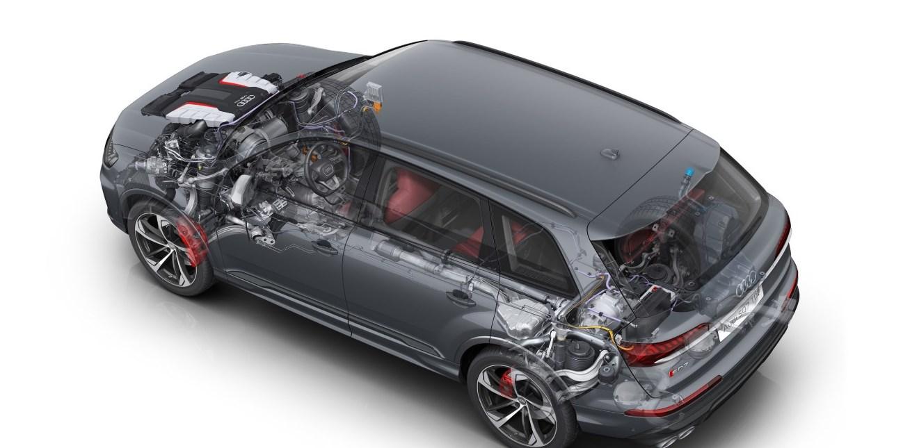 2021 Audi SQ7 Engine