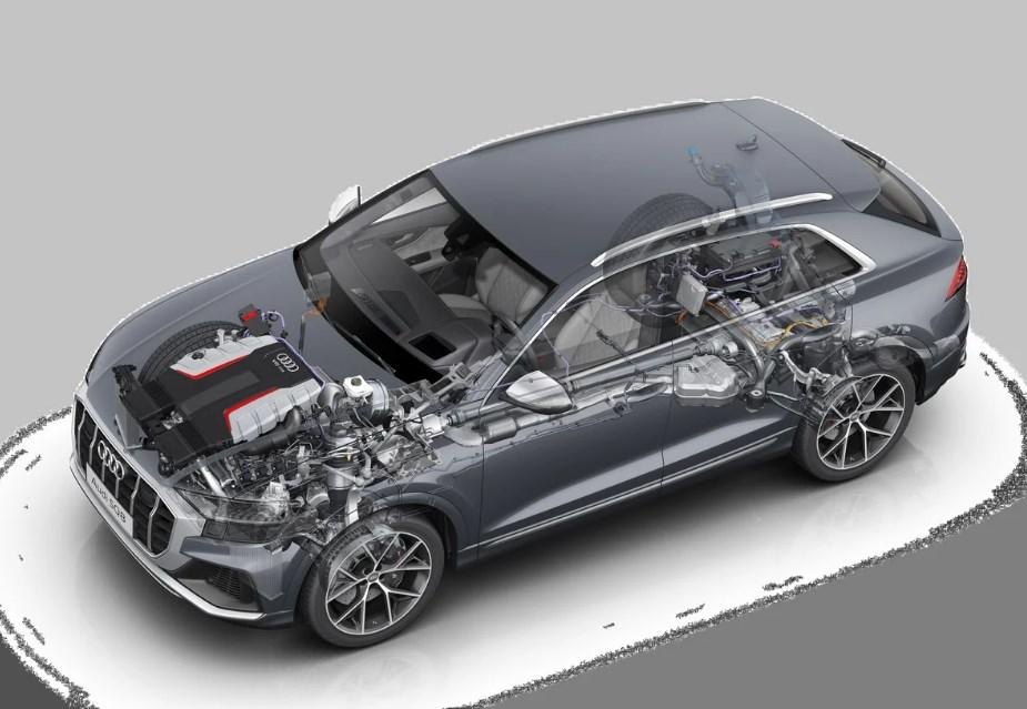 2021 Audi SQ8 Engine