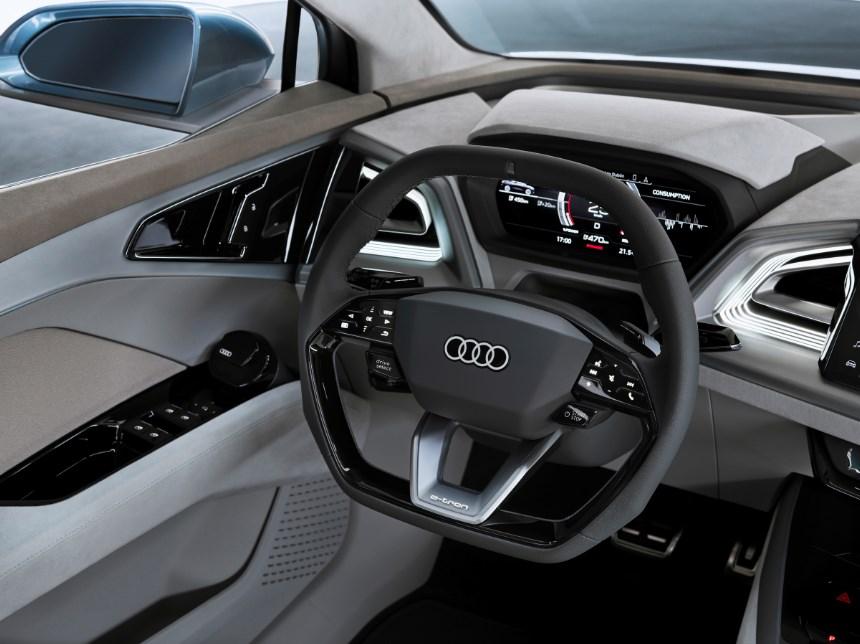 2021 Audi Q4 E-tron Interior