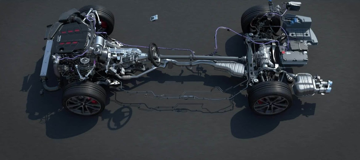 2021 Audi S4 Engine
