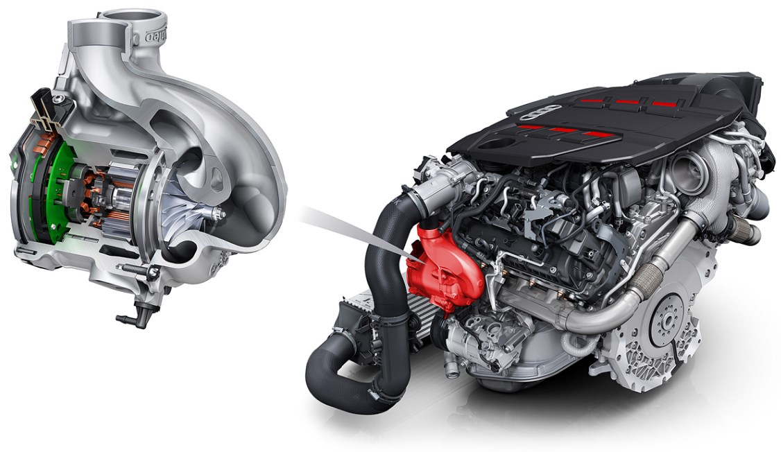 2022 Audi A4 Engine