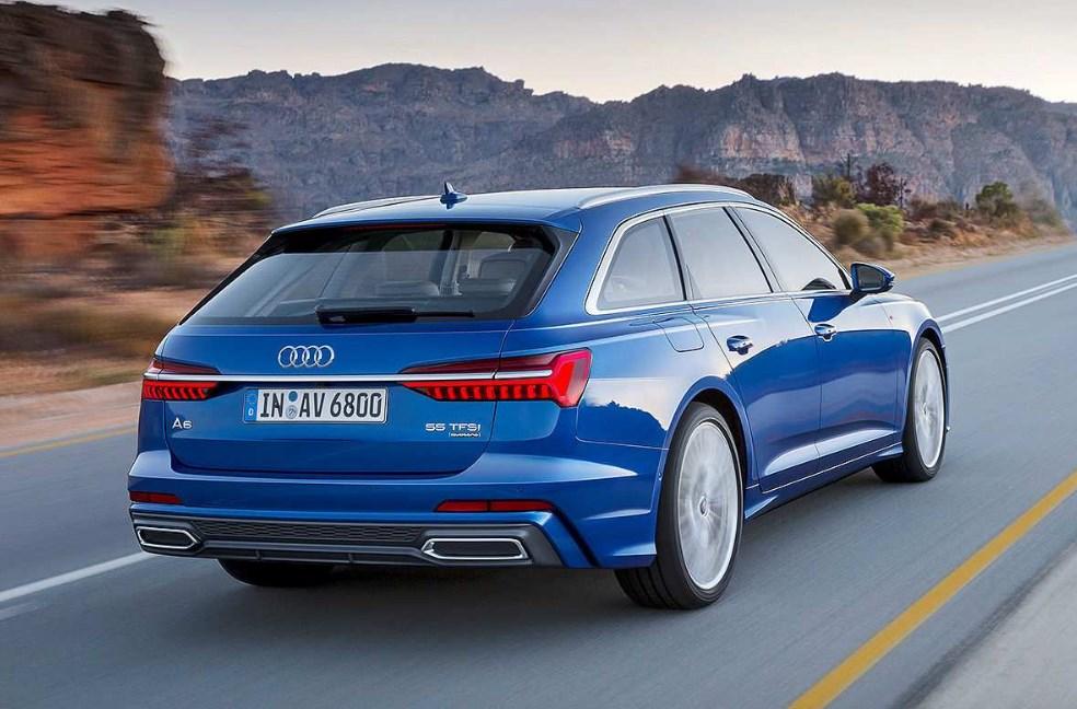 2022 Audi A6 Engine