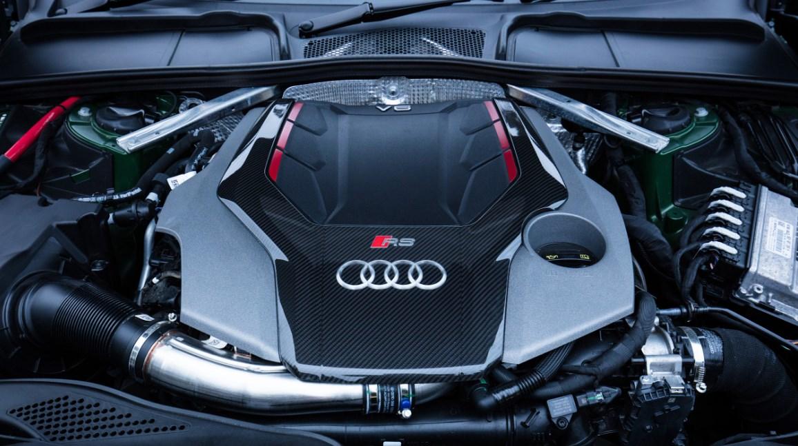 2022 Audi RS5 Engine