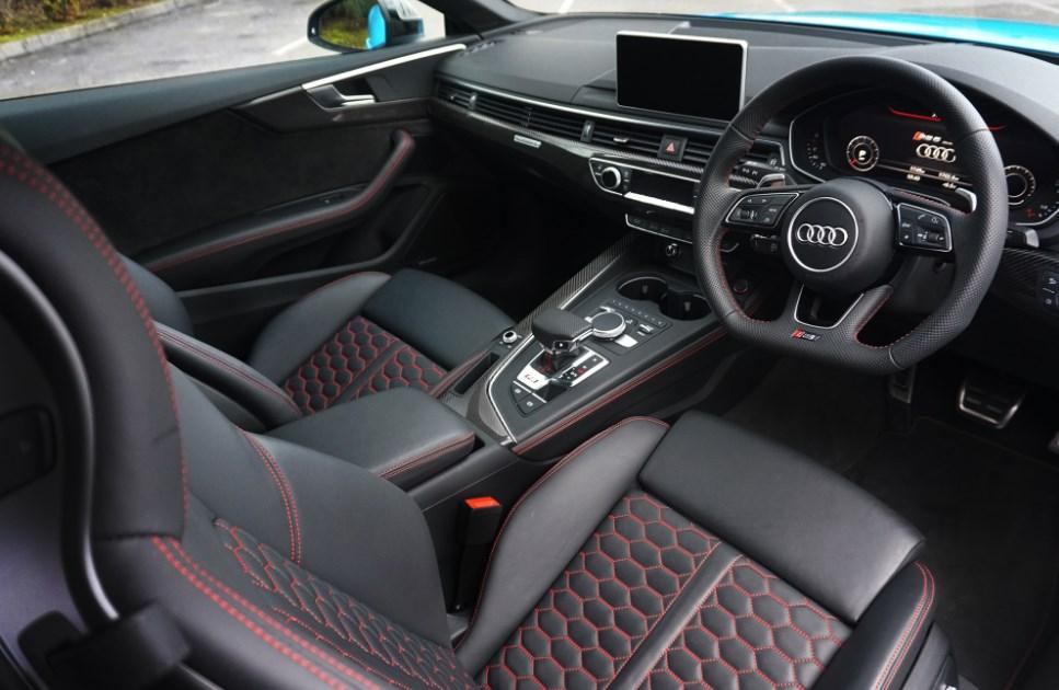 2022 Audi RS5 Interior