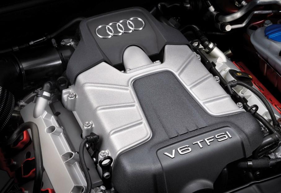 2022 Audi S4 Engine