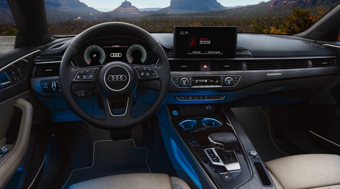 2022 Audi A5 Interior