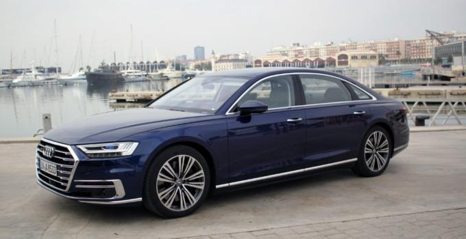 2022 Audi A8 Exterior