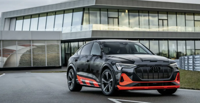 2022 Audi E-Tron Exterior