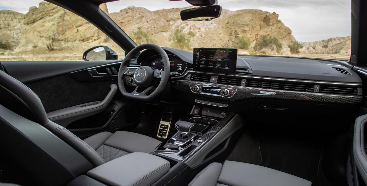 2022 Audi S5 Interior